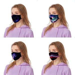 Valve unisex maschera maschere di vendita Fa filtro Ot PM2.5 Tessuto Mask Wasable cotone Wit Mask Dener # 189 # 166 Fa riutilizzabile F Stampato Valve Unise oRow