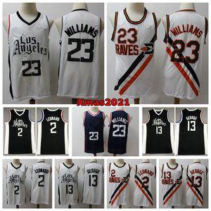 2021 Mens Lou 23 Williams Swingman Jersey City Los Angele Edition Stitched Paul 13 George Kawhi Leonard 2 Basketball Jersey 로고 태그