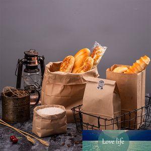 100шт крафт бумаги мешок партия свадьба поставок упаковки подарок маленький подарок бутерброд хлеб извлекающий вычет
