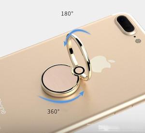 New Spinner Ring Holder Metal Fidget Spinner Portable Zinc Alloy Mini 360 Degree Rotation Holder Stand for Cell Phone