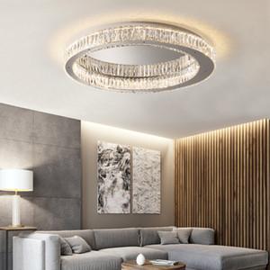 Modern Crystal Ceiling Lights Industrial Retro Home Lamp For Living room Kids Bedroom Dining Table LED Ceiling Light Rectangle