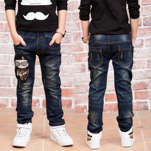 Детские джинсовые брюки Big Boys Slim Jeans Boys Jeans, детские джинсы моды, для возраста: 3 4 5 6 7 8 9 10 11 12 13 14 лет 201027