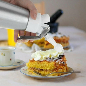 500ML Metal N2O Dispenser Cream Whipper Coffee Dessert Sauces Ice Butter Whip Aluminium Stainless Whipped Fresh Cream Foam Maker sea CCA3327