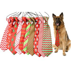 Große große Hunde Krawatten Krawatten Für Medium Big Pet Polyester Silk Dress Up Individuelle Krawatte Hundepflege Supplies 30 Farben Medium Big Pet SN1579