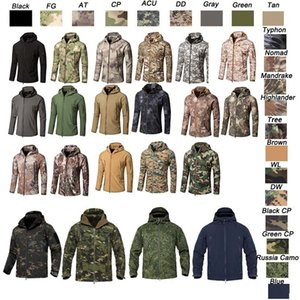 Woodland Hunting Shooting Tactical Camo Coat Combat Clothing Camouflage Outdoor Hoody Softshell Jacket NO05-201