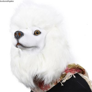 New Creepy Monkey Dog Rubber Funny Rooster Latex Chicken Animal Penguin Head Kids Party Halloween Masquerade Mask Toy JY15