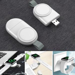 Para Iwatch Portable USB Magnético Carregador Rápido Estação de Dock de Baixo Temperatura para Apple Watch 44mm 42mm 40mm 38mm