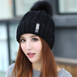 Pure Color Wool Knitted Hats Women INS Hot Sale Beanie Caps Multi-function Wearing Casual Horsetail cap Female Empty Top Hats