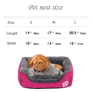 Dog Bed Small Dog House Warm Fleece Pet Sofa Kennel Nest Puppy Cat Beds Mat For Small Medium Dogs Chihuahua C sqcCte