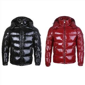 2020Mens Inverno Down Jacket Giubbotto imbottito con cappuccio spesso strato Giacca Coppie Uomini delle donne degli uomini di alta qualità Piumini Cappotto Parka Inverno