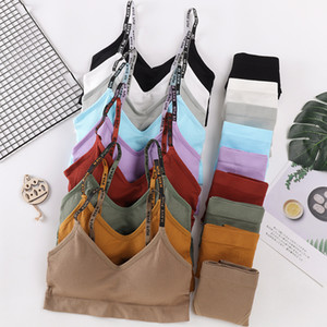 Strap Carta Sexy Calcinhas Push Up Sports Active Seamless Bra Mulheres Lingerie Set Academia Top Underwear