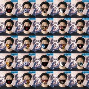 ناروتو ساي Cubrebocas قابلة لإعادة الاستخدام Tapabocas قناع الوجه مصمم على الرسوم المتحركة للأطفال قناع الوجه 20 ناروتو ساي home2010 DCSIL