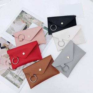 Leather Ring Chest Shoulder Multi-function Fashion Waist Bags Envelope Design Belt Pockets Phone Pouch for Girls Ladies