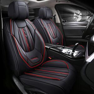 Auto Universal Real Pelle Coperchio per seggiolino auto per VW Golf 4 5 Volkswagen Polo 6R 9N Passat B5 B6 B7 TOUAREG Seggiolini auto Tiguan