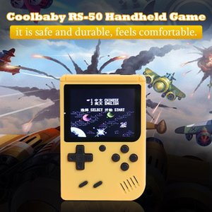 Handheld Game Console Retro Portable Video Game Player Kids 400 Games 8 Bit 3 Inch Colorful LCD SUP Classic Marca Handheld Games Consoles