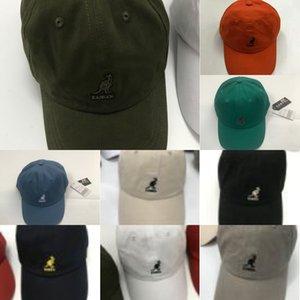 8WG2W Kangol Kangol Cangelo Versátil Algodón Béisbol Papita de béisbol Patito Tendencia Trend Versátil Algodón Sol Hat 9 Colores