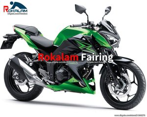 Para Kawasaki Z250 2015 2016 Z 250 Z300 Failings 15 16 Z 300 Motorcycle Fairing Cowling Set (moldeo por inyección)