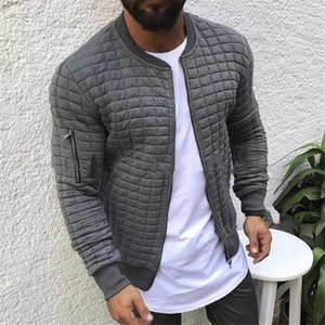 2020 Foreign trade men's clothing Autumn and winter new style European and American Slim casual sports men's sweater jacket Size M-3XL