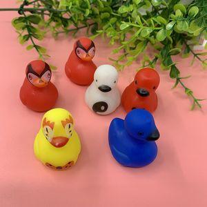 Cute PVC Kids Environmentally Duck Baby Shower Birthday Favors Accompany Kids Bathroom Toy Boy And Girl Gift