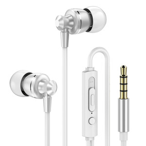 3.5mm Sports Earphone Deep Bass Wired Headphone Noise Canceling With Microphone Gaming Headset for Huawei Xiaomi Samsung
