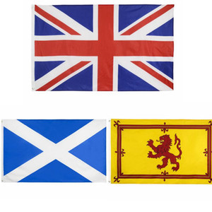 Schottland-Flagge 90 * 150cm Royal Lion National 3x5ft Digital Print Dekor Banner DHL AHF2970