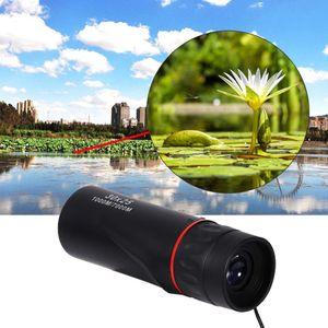 Camping Monocular Telescope HD 30x25 Binoculars Zooming Focus Green Film Binoculo Optical Hunting High Quality Tourism Scope