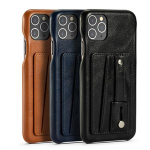 High Class PU Porte-cartes en cuir avec Béquille ShockProof cas pour Iphone SE2020 11Pro MAX Top qualité Cover