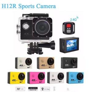 H12R 모험 기록 기적 스포츠 미니 방수 비디오 카메라를 타고 낙하산 다이빙 서핑 사냥 풀 HD 4K 캠코더