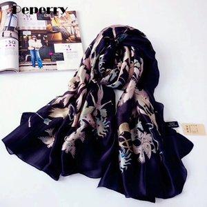 New Fashion Silk Scarf Summer Tarot Card Women Constellation Brand Design Long Shawls Wraps Lady Brand Design Foulard 180*90cm Y201024