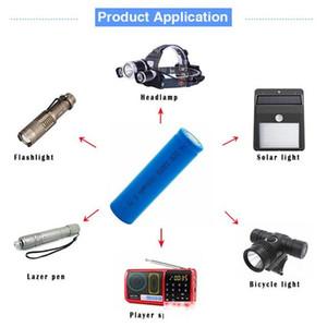 교체 배터리 4 플래시 라이트 토치에 대한 / 6 / 10PCS 18650 3.7V 1500mAh 충전식 배터리 ICR 18650 리튬 배터리 리튬 이온 Bateria