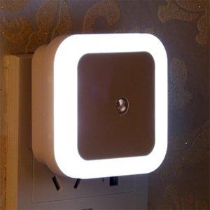 LED Night Light Mini Light Sensor Control 110V 220V EU US Plug Nightlight Lamp For Children Kids Living Room Bedroom practical light