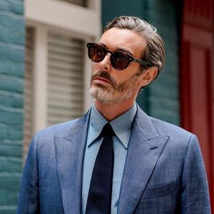 Cary Grant Brand Designer Polarized Sunglasses Men Women Driving Shades Male OV5413 Vintage Round Sun Glasses Oculos De Sol