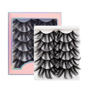 25mm Eyelashes Vendor Wholesale 6D Faux Mink Eyelash Custom Label Cruelty Free Vegan Lashes 6D Silk Eyelashes