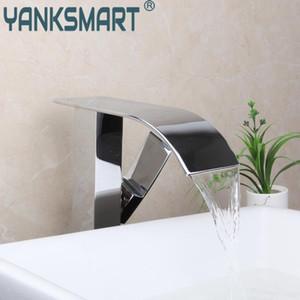 Высокое качество Водопад Носик бассейна Torneira ванной Chrome 92269/13 Deck Mount одной ручкой Смесители раковины, смесители