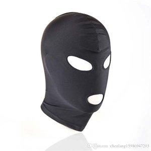 Mouth Black Women Mask Geschlechts-Produkt Fetisch Toy SM Männer Paar BDSM Bondage Hood Spiel Augen-Adult-Slave Mund Schwarze Frauen Maske Sex Produ Upxr
