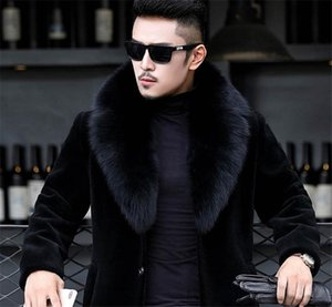 20FW Winter Mens Designer Jackets Hombres Warm Windbreaker Long Wool Blends Outerwears Coats Black Thicken Coat