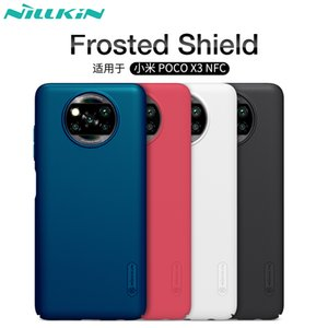 Case For Poco X3 NFC Cover Xiaomi Poco X3 NILLKIN Super Frosted Shield Matte hard back case For Poco Phone X3 NFC Global Version