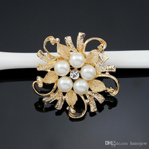 Brooches For Women Exquisite Wedding Brooch Pins Silver Gold Elegant Women Rhineston Brooch