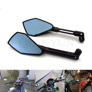 Espelhos de motocicleta para S1000R K1200R K1300R R1200GS F800R F650GS G650GS G310R CNC Espelho Scooter Acessórios1