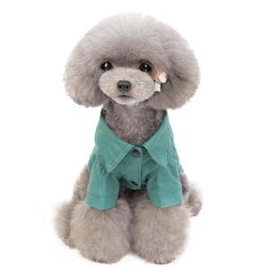 Teddy Cotton Casual Jacket Cowboy Cool Puppy T-shirt Dog Clothes Pet Clothing Small Dog Warm Winter Clothe Dog Coat Pupp bbygHd