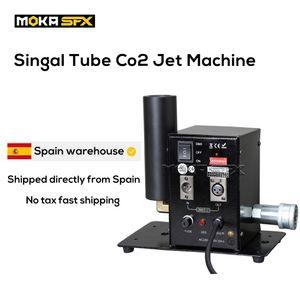 Shipped from Spain 2pcs lot MINI CO2 Cannon Cryo Effects Spray 8-10M Co2 Jets DMX Control Smoke Machine for DJ Nightclub Stage Performance
