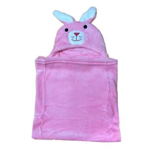 할인 판매 신생아 가을 수면 담요 망토 BL001 번호를 싸는 9.9 $ 귀여운 RABIT 디자인 아기 담요 따뜻한 플란넬 양털 유아