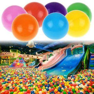 200pcs 5.5cm Colorful Fun Ball Soft Plastic Ocean Ball Baby Kid Toy Swim Pit Toy
