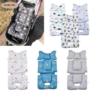 Two-face Baby Stroller Mat Seat Cushion High Chair Dining Chair Pram Car Mattresses Carriages Seat Pad Stroller Mat Accessories