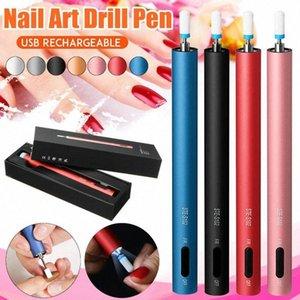 12000RPM Portable Mini Electric Nail Drill Machine Pedicure Pen Rechargeable Nail Art Pusher Manicure Care Polishing Tools Nail Art Tr dlDU#