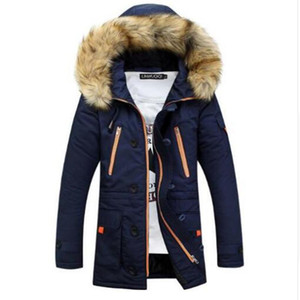 Winter Jacket Men New Brand Casual Warm Parka Men Fashion Detachable Fur Hooded Collor Thicken Man Jackets Outwears SIZE S-3XL