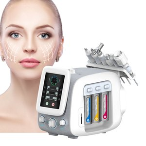 Portable Skin 6 In 1 small bubble Handheld H2o2 skin care Aqua Peeling Multifunction Facial Hydra Microdermabrasion Machine