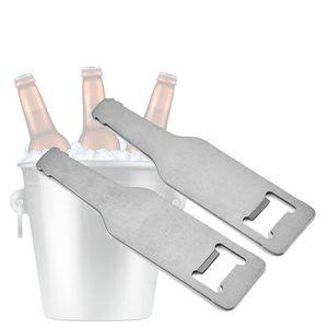 الفولاذ المقاوم للصدأ فتاحة شنق جدار جبل فتاحة زجاجات النبيذ الفتاحات المحمولة المعمرة زجاجة بيرة الفتاحات المطبخ بار النادل أداة DWC3568