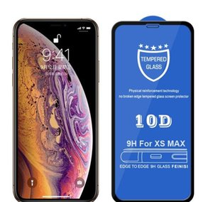 10D 곡선 방지 방폭형 HD 풀 커버 아이폰 11 Pro X XR XS Max 7 8 Plus Prot BbyKDN BDE_Home