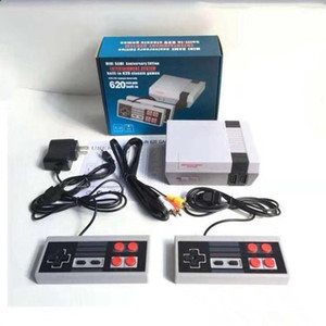 Mini TV can store 620 500 Game Console Video Handheld for NES games consoles with retail boxs fast shipping